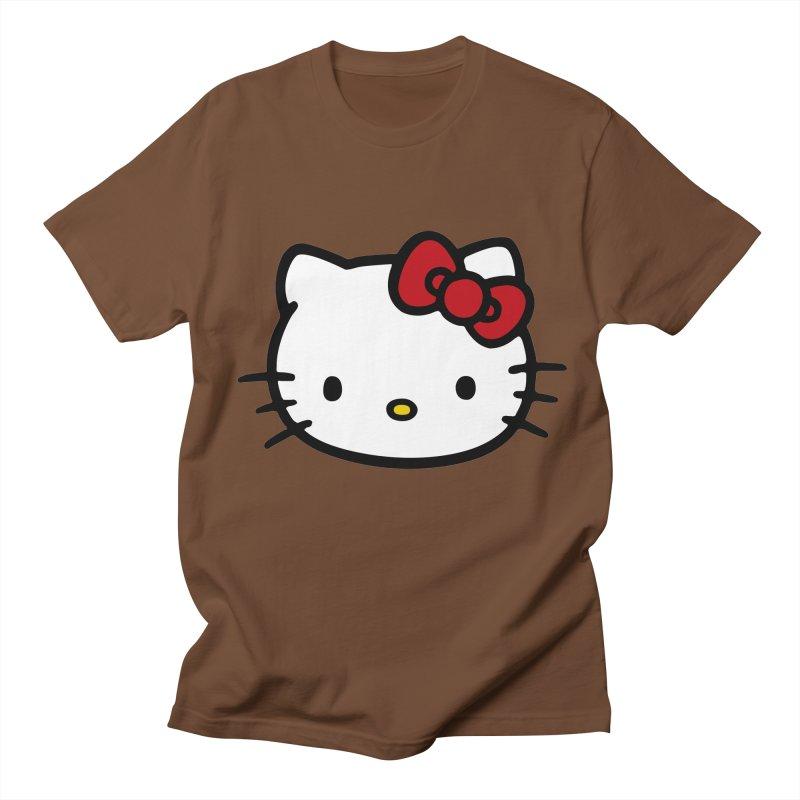 Hello Kitty Men's T-Shirt by Cesar Peralta