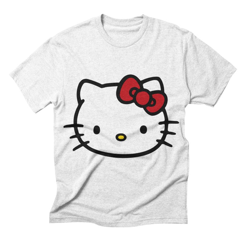 Hello Kitty Men's Triblend T-shirt by Cesar Peralta