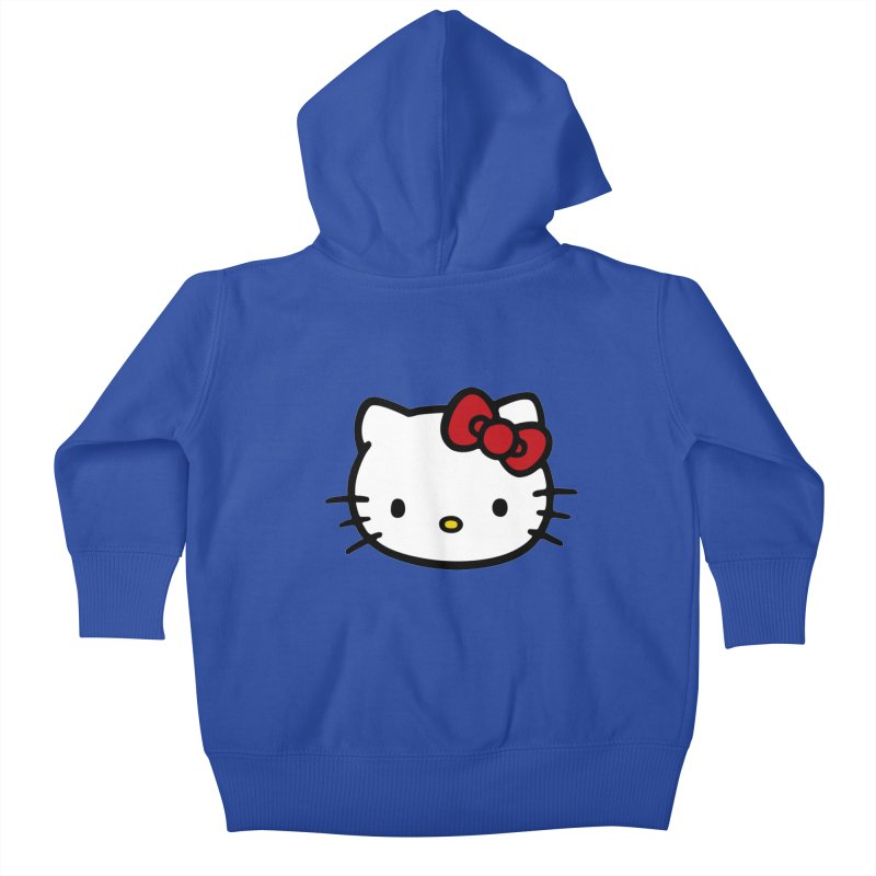 Hello Kitty Kids Baby Zip-Up Hoody by Cesar Peralta