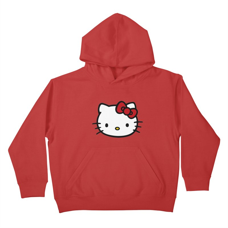 Hello Kitty Kids Pullover Hoody by Cesar Peralta