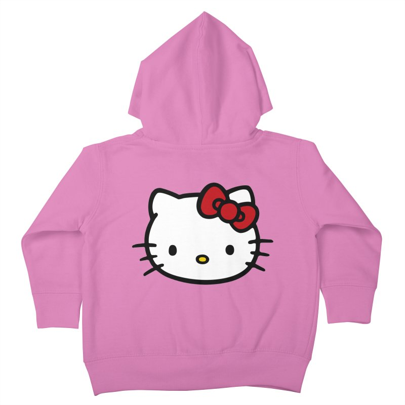 Hello Kitty Kids Toddler Zip-Up Hoody by Cesar Peralta