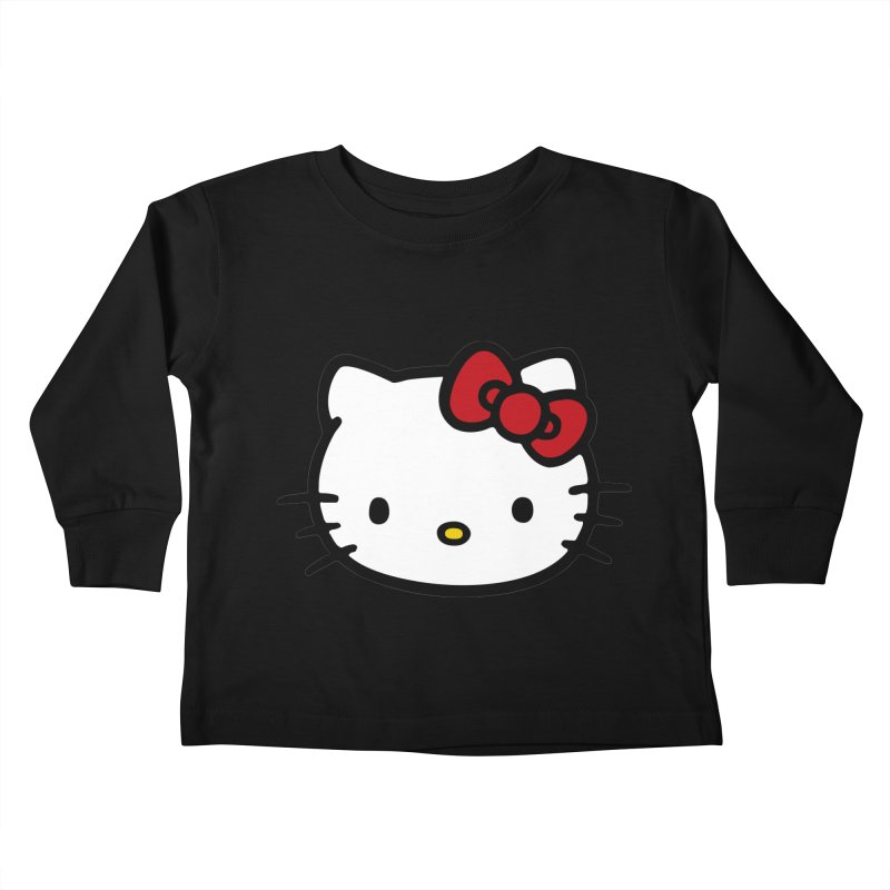 Hello Kitty Kids Toddler Longsleeve T-Shirt by Cesar Peralta