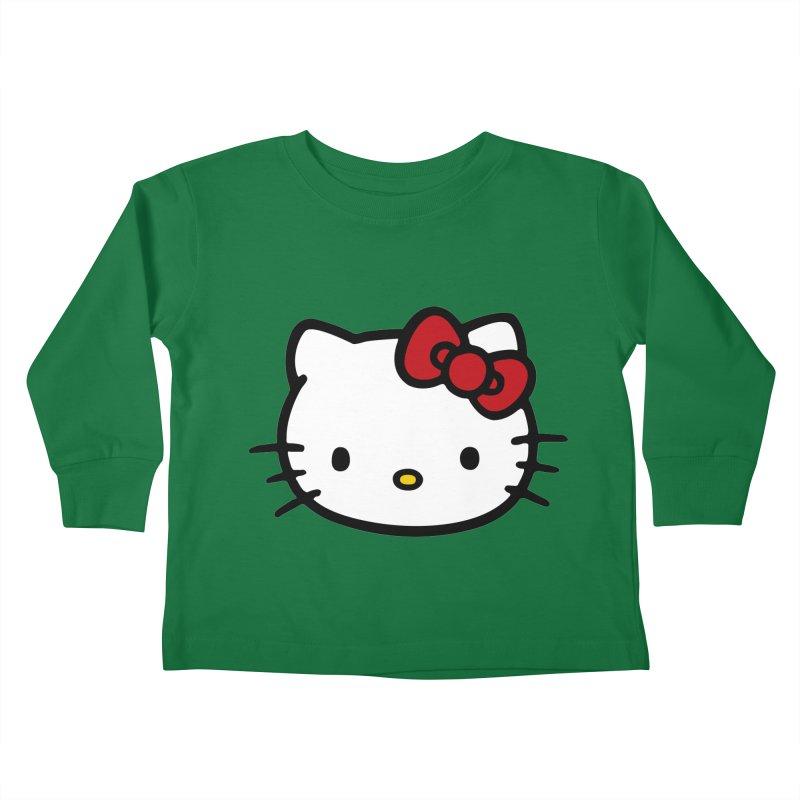 Hello Kitty Kids Toddler Longsleeve T-Shirt by Cesar Peralta