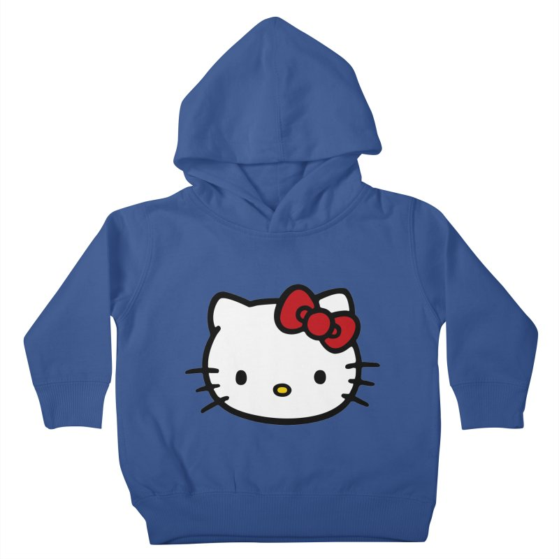 Hello Kitty Kids Toddler Pullover Hoody by Cesar Peralta