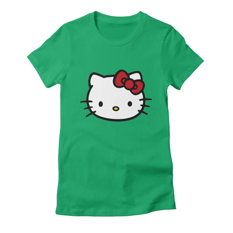 Hello Kitty Women's Fitted T-Shirt by Cesar Peralta