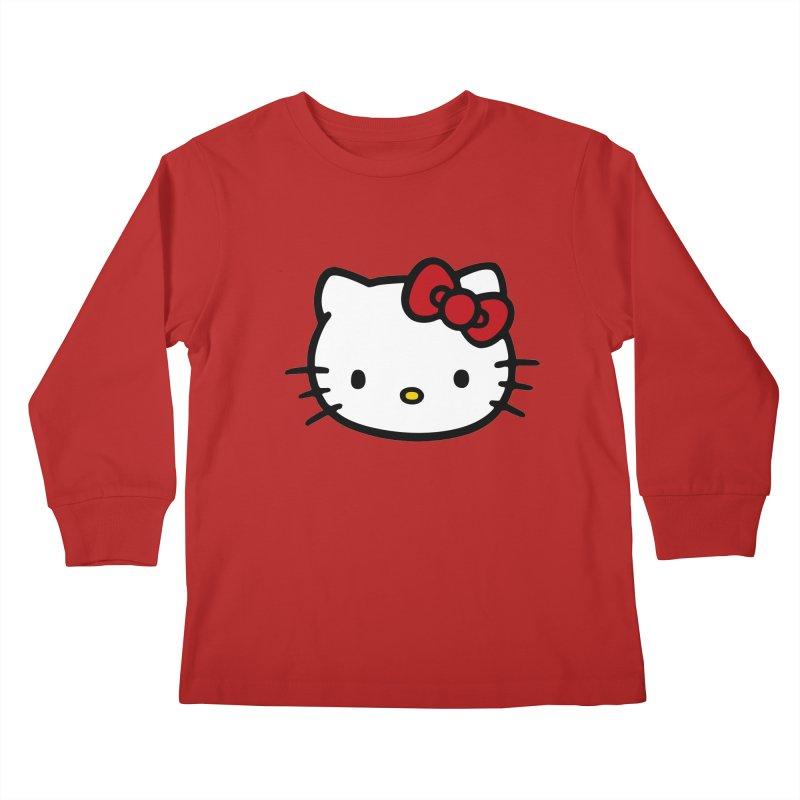 Hello Kitty Kids Longsleeve T-Shirt by Cesar Peralta