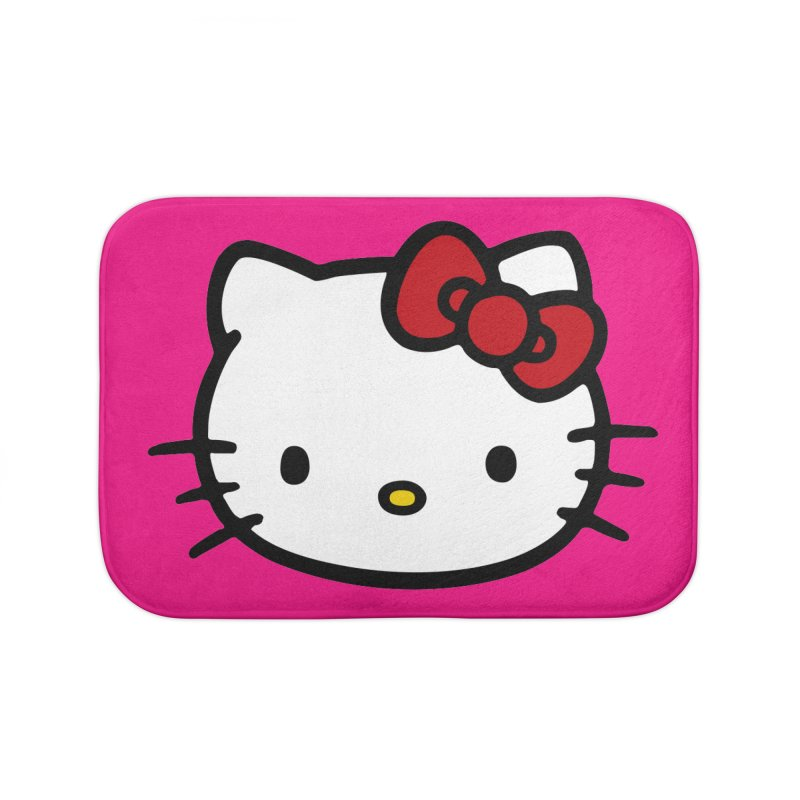 Hello Kitty Home Bath Mat by Cesar Peralta