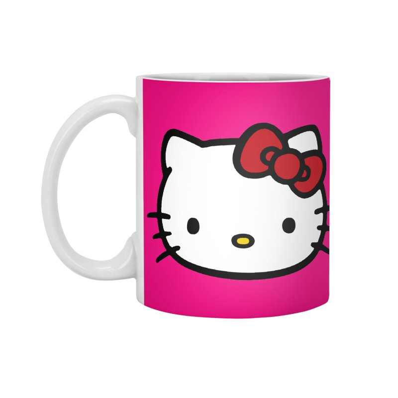Hello Kitty Accessories Mug by Cesar Peralta