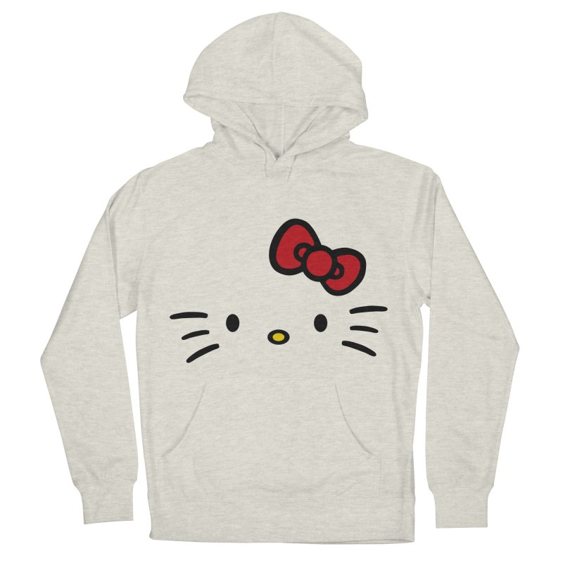 Invisible kitty Men's Pullover Hoody by Cesar Peralta
