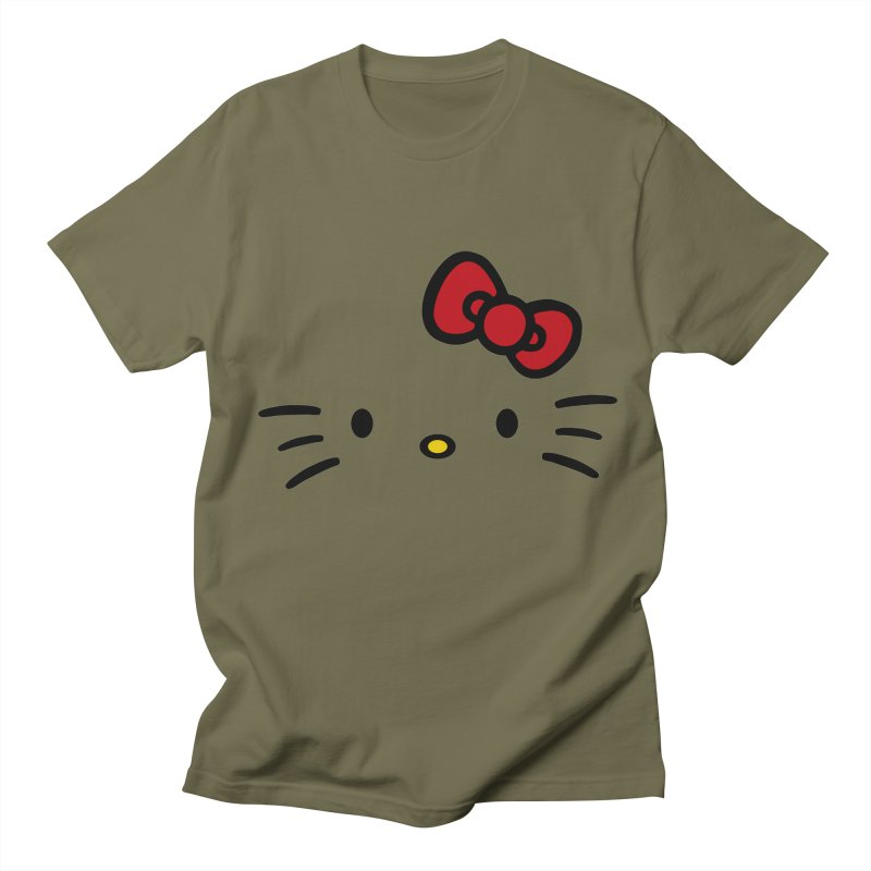 Invisible kitty Men's T-Shirt by Cesar Peralta