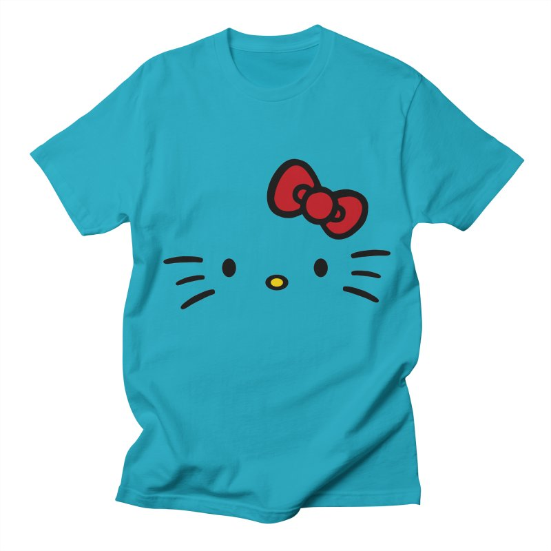 Invisible kitty Women's Unisex T-Shirt by Cesar Peralta