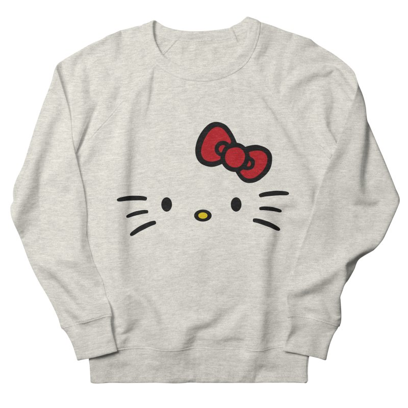 Invisible kitty Women's Sweatshirt by Cesar Peralta