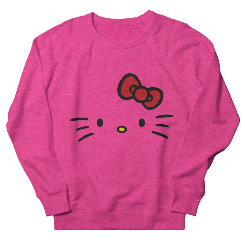 Invisible kitty Men's Sweatshirt by Cesar Peralta