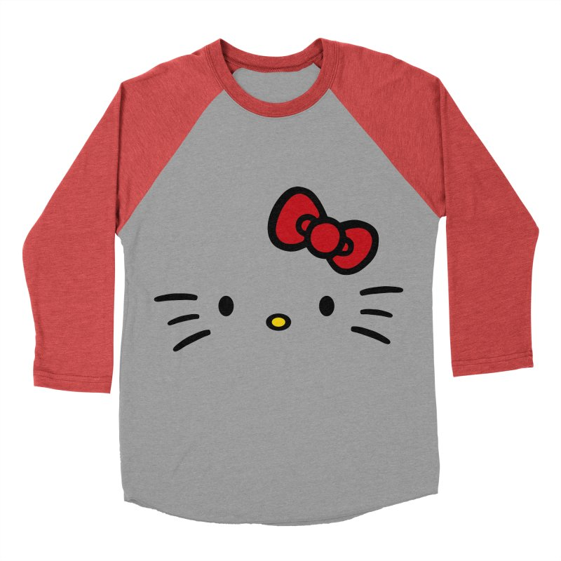 Invisible kitty Men's Baseball Triblend T-Shirt by Cesar Peralta