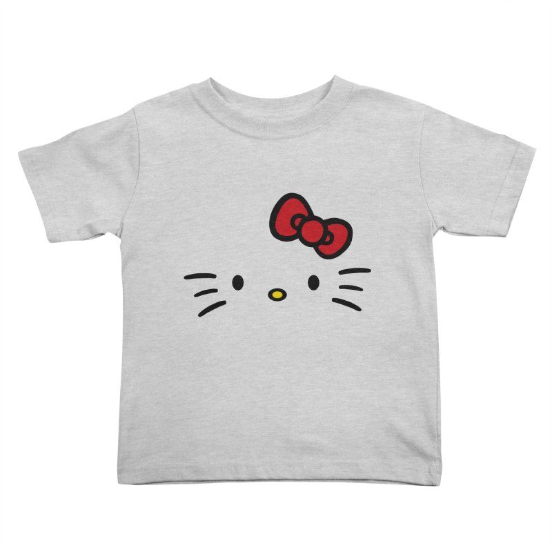 Invisible kitty Kids Toddler T-Shirt by Cesar Peralta