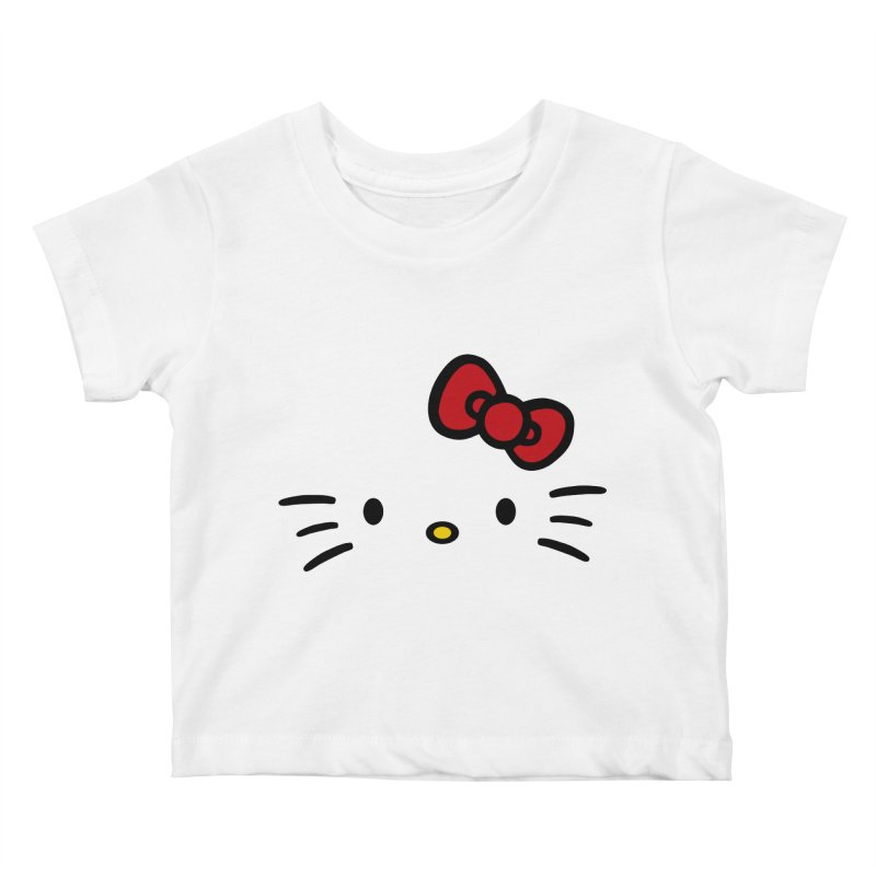 Invisible kitty Kids Baby T-Shirt by Cesar Peralta