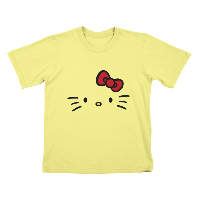 Invisible kitty Kids T-shirt by Cesar Peralta
