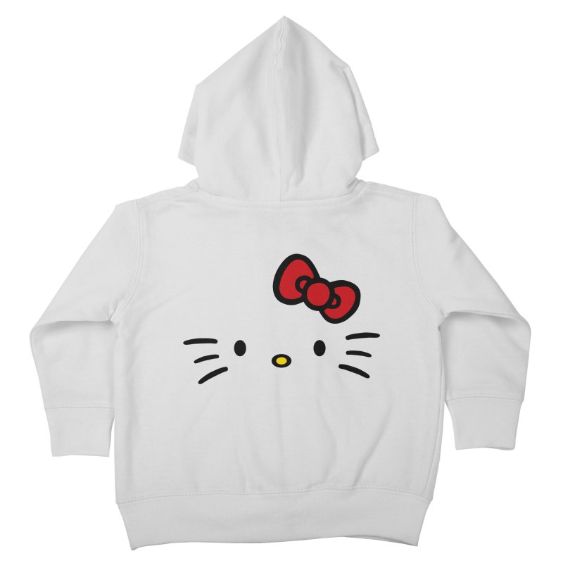 Invisible kitty Kids Toddler Zip-Up Hoody by Cesar Peralta