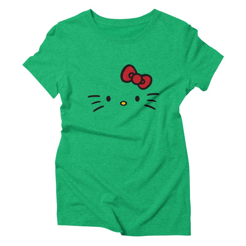 Invisible kitty Women's Triblend T-Shirt by Cesar Peralta