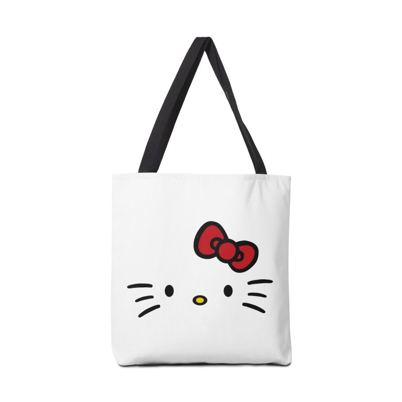 Invisible kitty Accessories Bag by Cesar Peralta