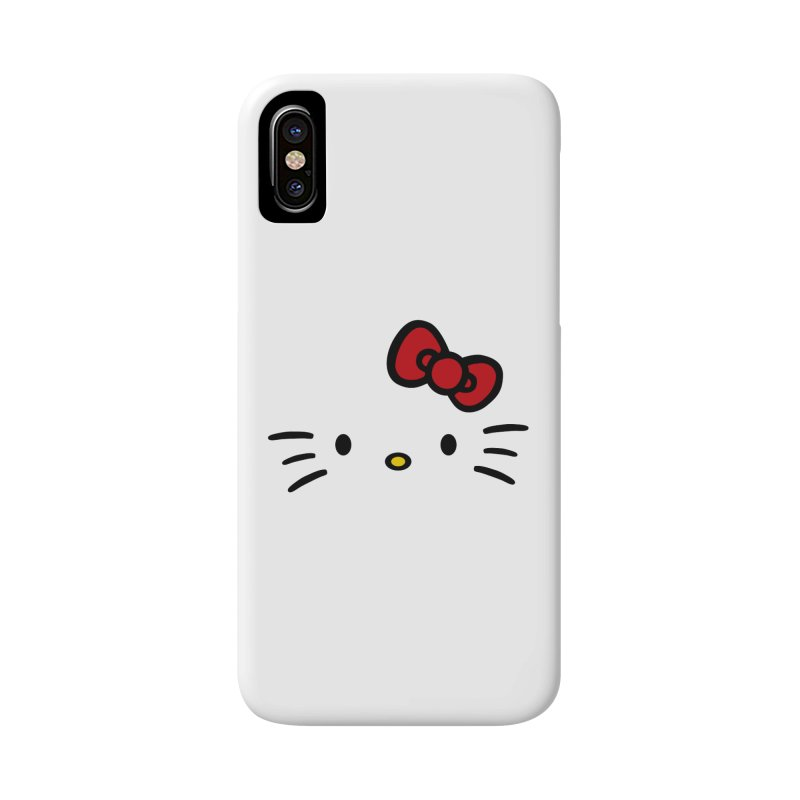 Invisible kitty Accessories Phone Case by Cesar Peralta