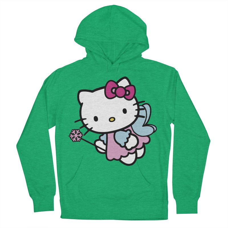 Hello Kitty Angel Women's Pullover Hoody by Cesar Peralta