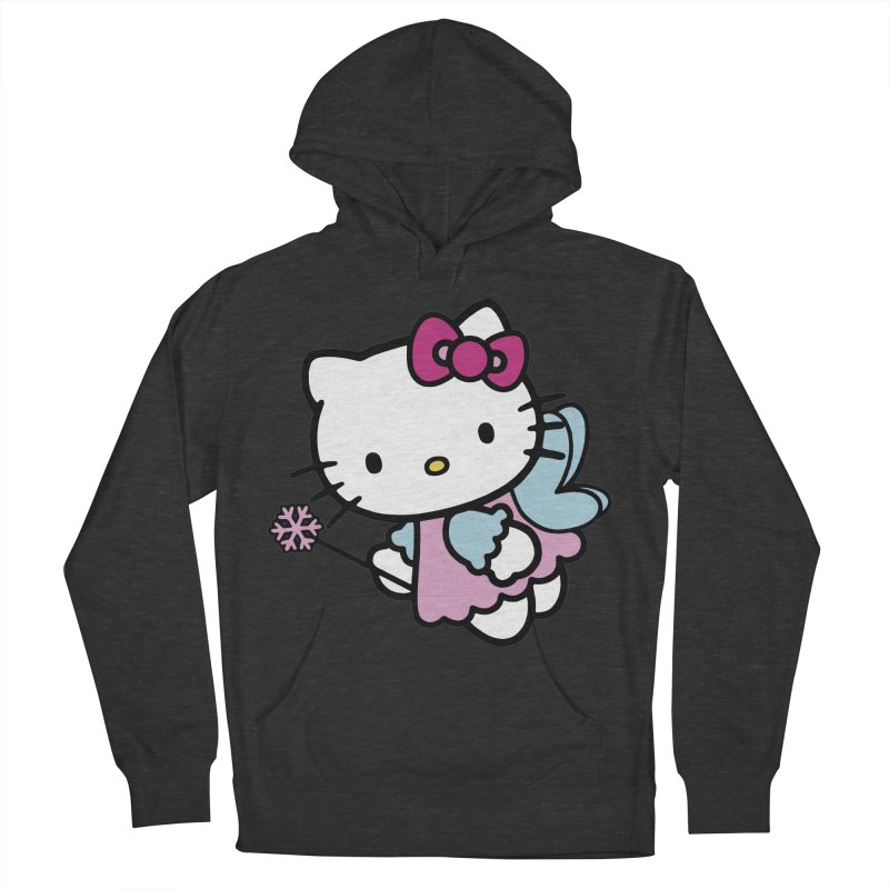 Hello Kitty Angel Men's Pullover Hoody by Cesar Peralta