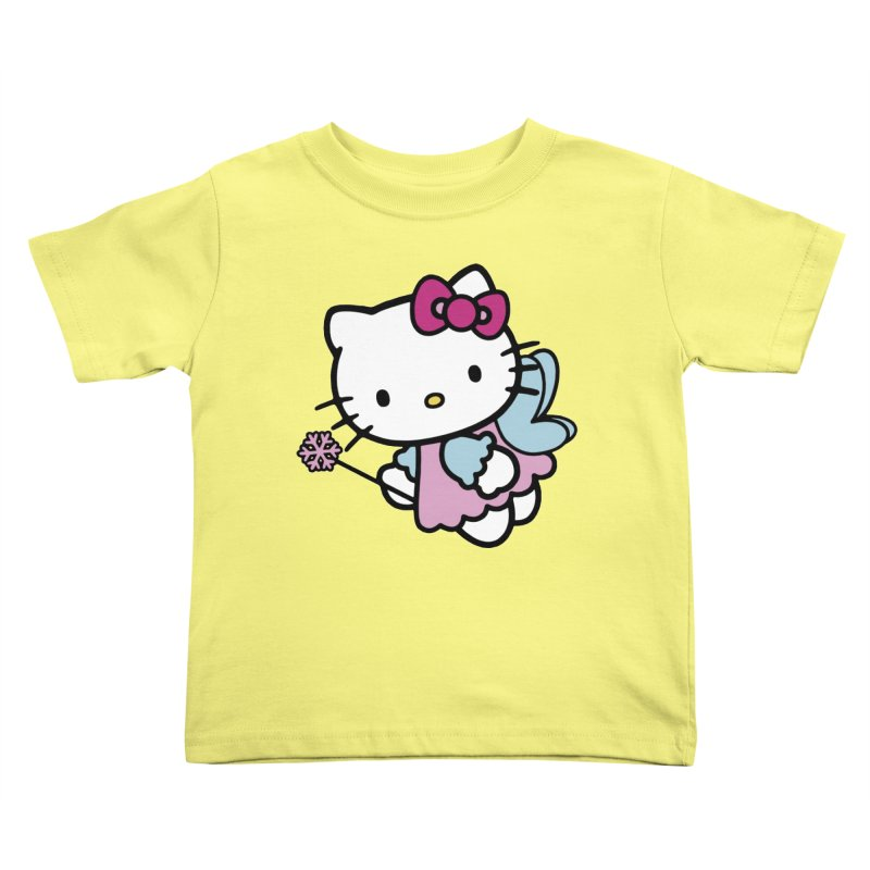 Hello Kitty Angel Kids Toddler T-Shirt by Cesar Peralta