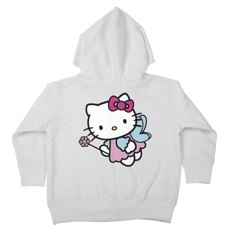 Hello Kitty Angel Kids Toddler Zip-Up Hoody by Cesar Peralta