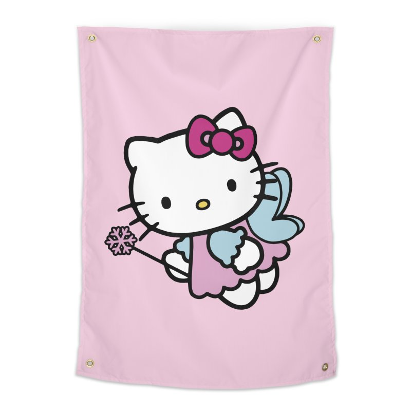 Hello Kitty Angel Home Tapestry by Cesar Peralta