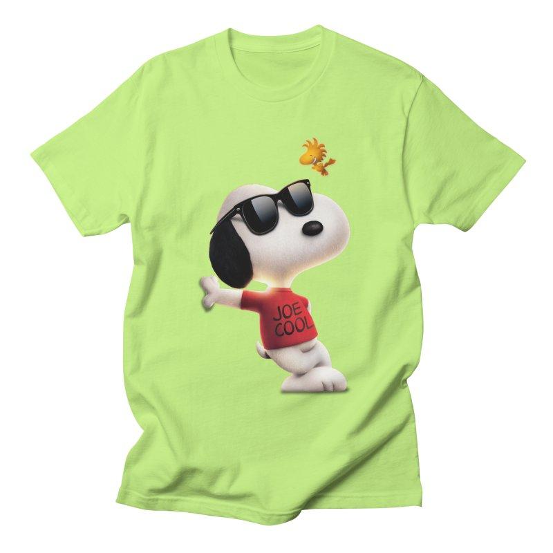 Joe Cool Men's T-Shirt by Cesar Peralta