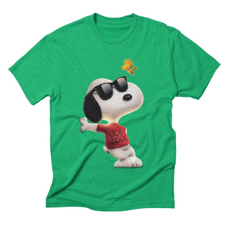Joe Cool Men's Triblend T-shirt by Cesar Peralta