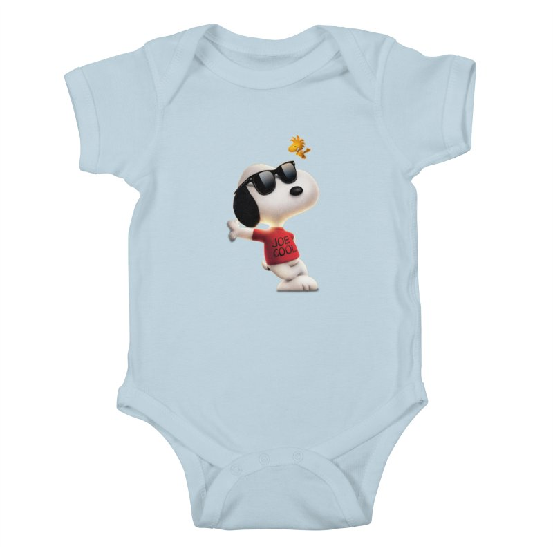 Joe Cool Kids Baby Bodysuit by Cesar Peralta