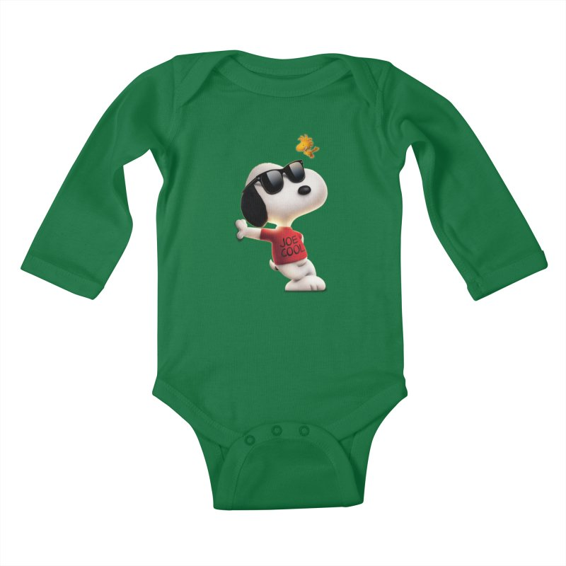 Joe Cool Kids Baby Longsleeve Bodysuit by Cesar Peralta