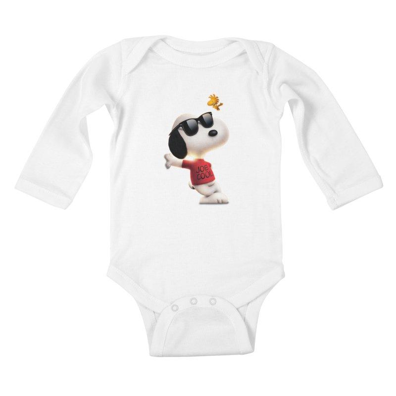 Joe Cool Kids Baby Longsleeve Bodysuit by Cesar Peralta