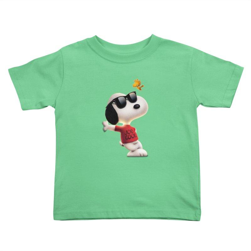 Joe Cool Kids Toddler T-Shirt by Cesar Peralta