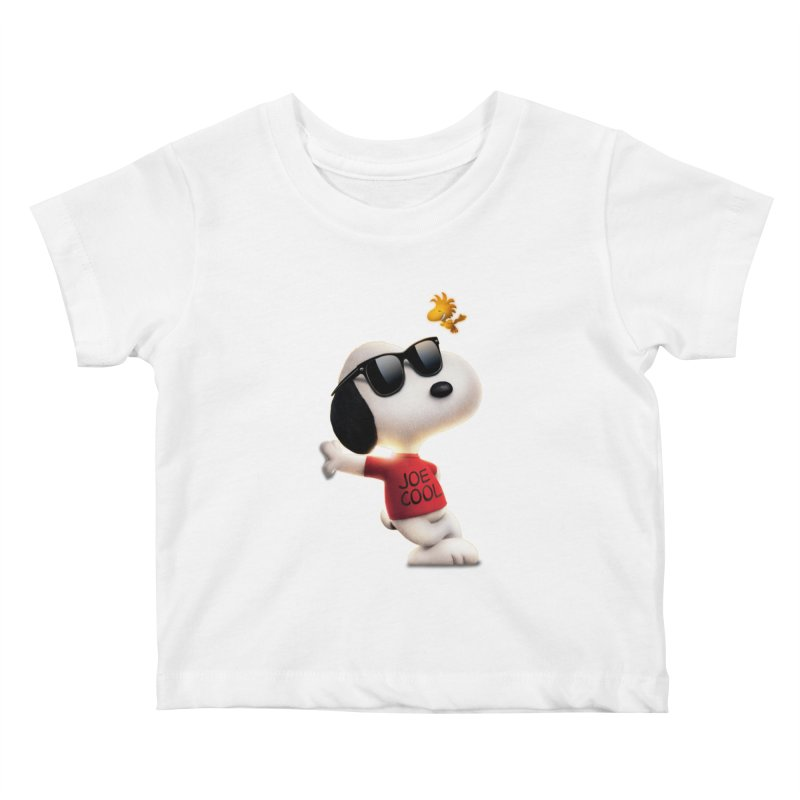 Joe Cool Kids Baby T-Shirt by Cesar Peralta