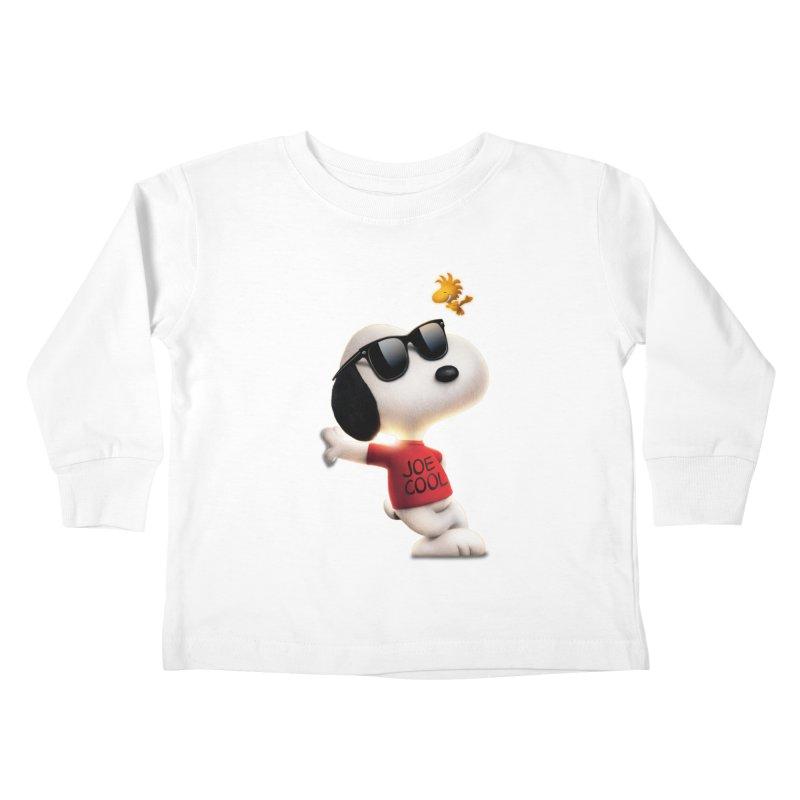 Joe Cool Kids Toddler Longsleeve T-Shirt by Cesar Peralta