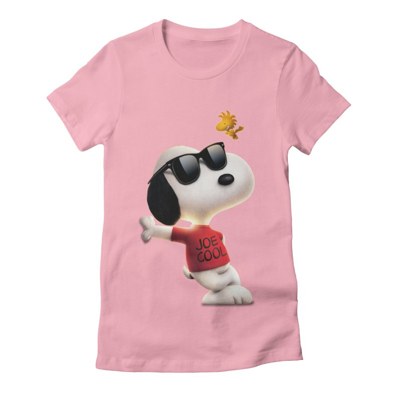 Joe Cool Women's Fitted T-Shirt by Cesar Peralta