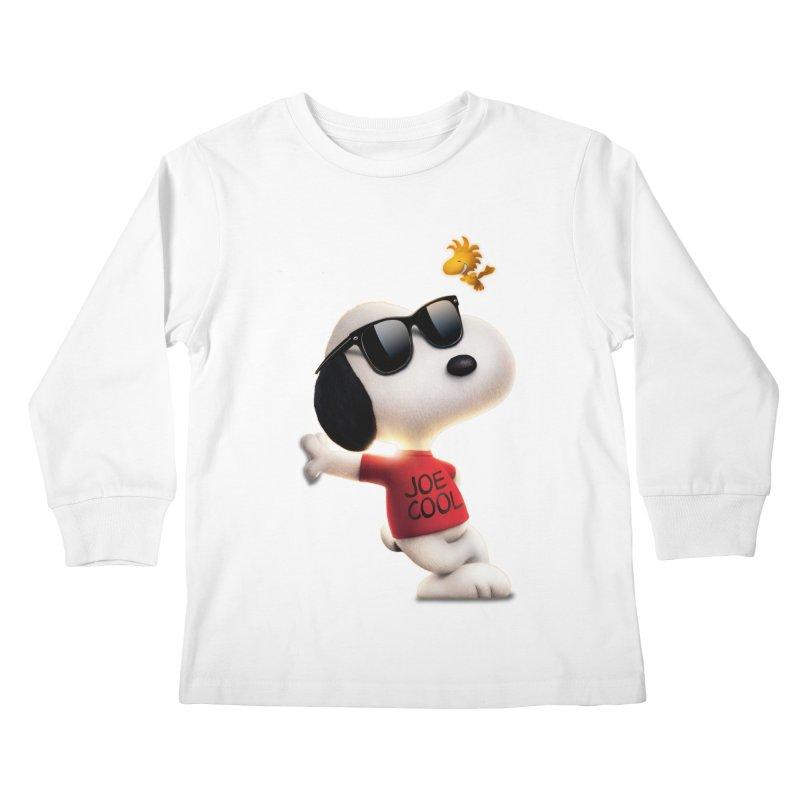 Joe Cool Kids Longsleeve T-Shirt by Cesar Peralta