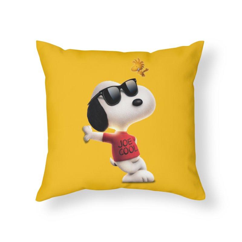 Joe Cool Home Throw Pillow by Cesar Peralta
