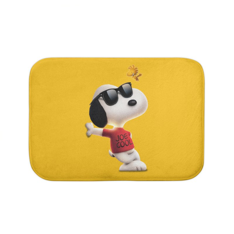 Joe Cool Home Bath Mat by Cesar Peralta