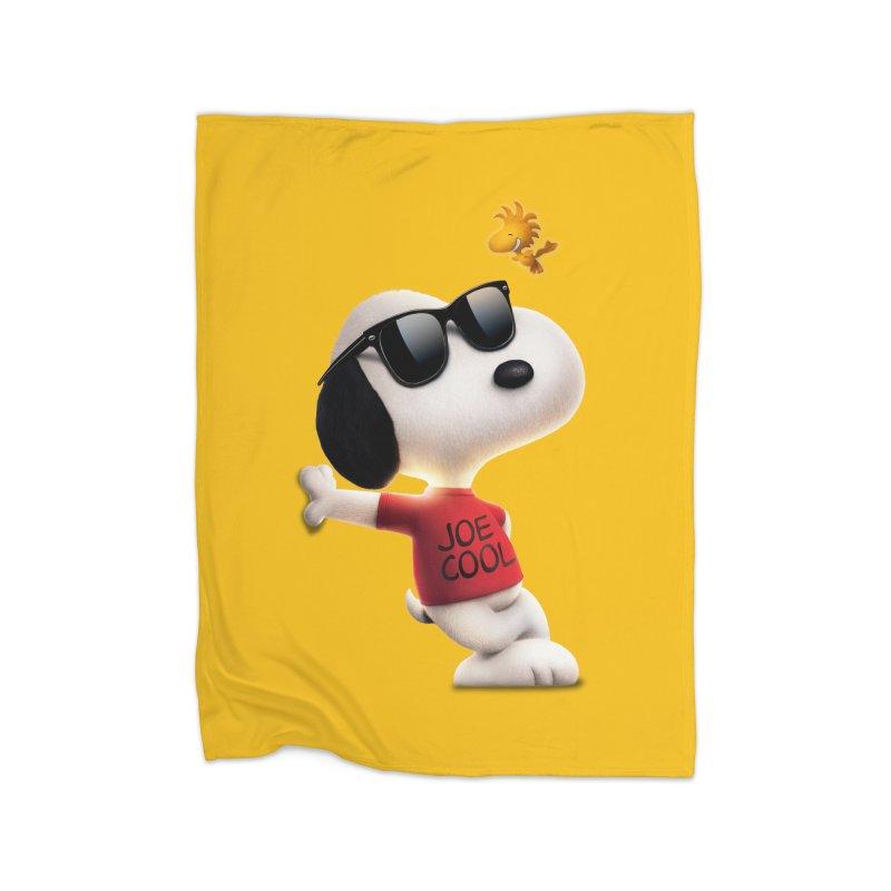 Joe Cool Home Blanket by Cesar Peralta