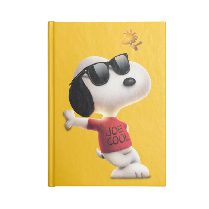 Joe Cool Accessories Notebook by Cesar Peralta