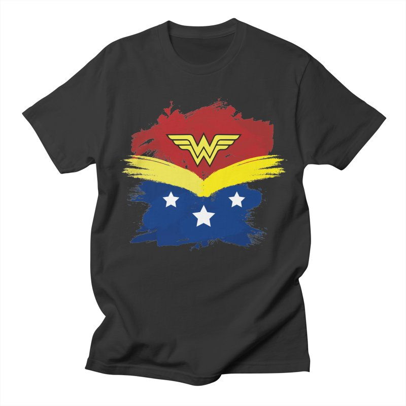 Wonder woman painting Women's Unisex T-Shirt by Cesar Peralta