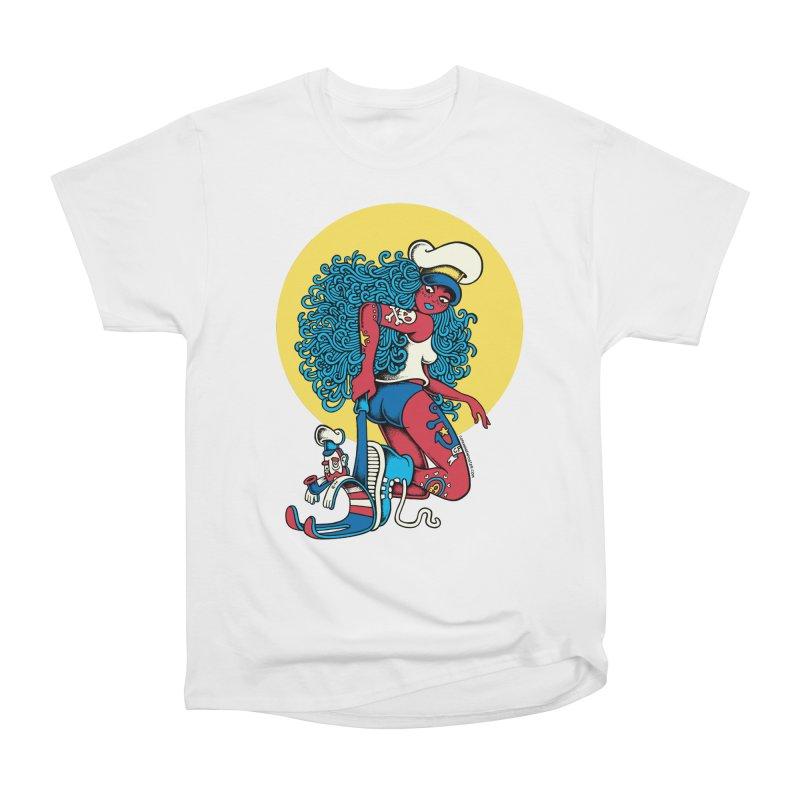 Maneater Men's Heavyweight T-Shirt by cphposter's Artist Shop