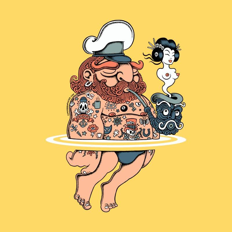 Summer Sailor Men's T-shirt by cphposter's Artist Shop