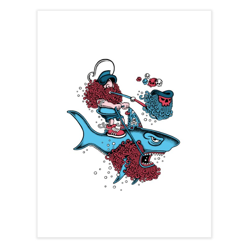 Shark Sailor   by cphposter's Artist Shop