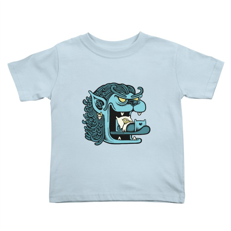 Good night Kids Toddler T-Shirt by cphposter's Artist Shop