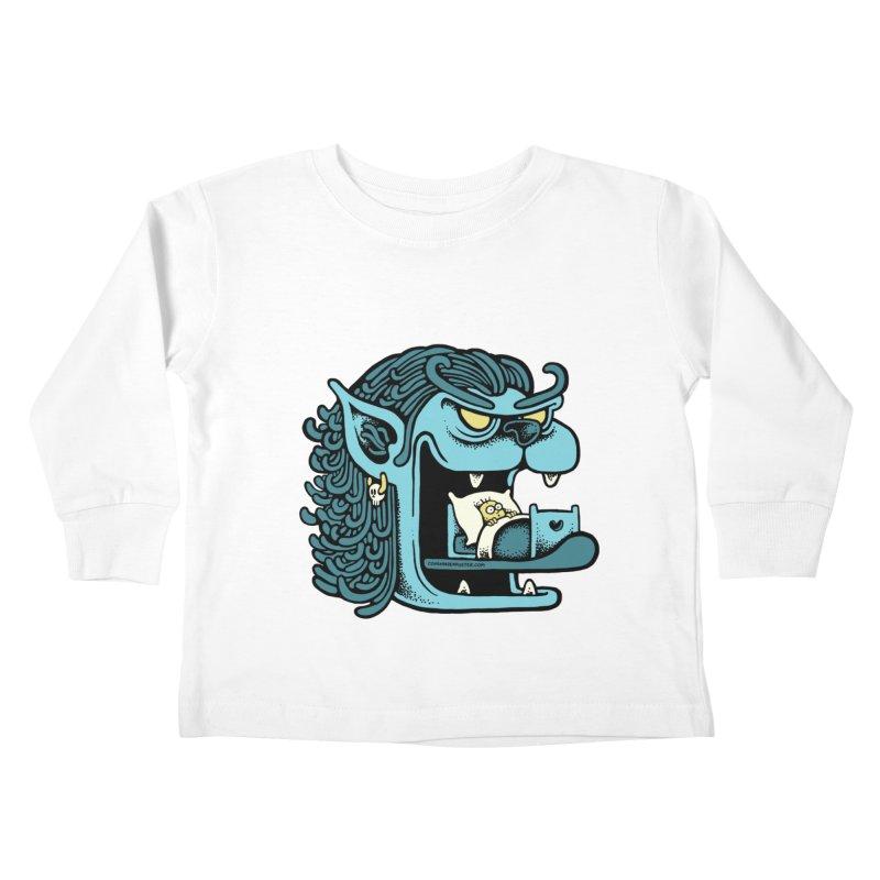 Good night Kids Toddler Longsleeve T-Shirt by cphposter's Artist Shop